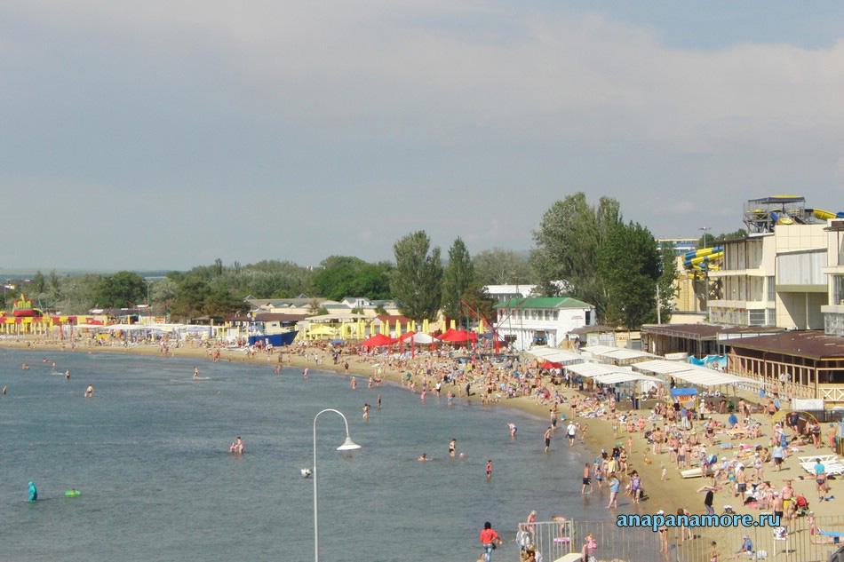 Пляжи Анапы — отзывы и фото, путеводитель по