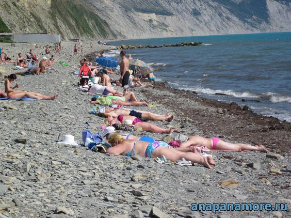 АНАПА : отдых на пляже Анапы описание