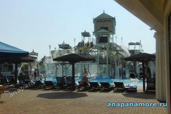 Аквапарк Олимпия в Витязево