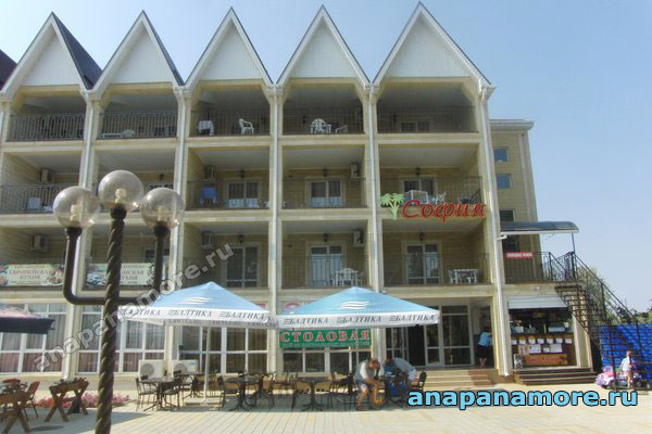 Гостиница «София» — курорт Витязево