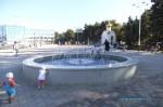 Фонтанный комплекс на площади перед администрацией в Анапе