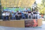 Выступает муниципальный духовой оркестр в Анапе