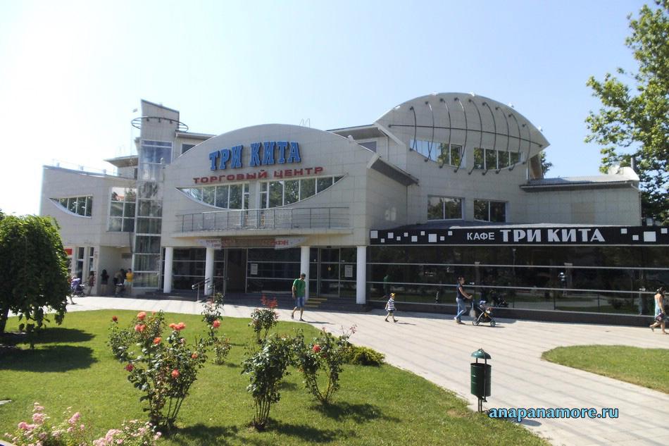 Торговый центр «Три кита» в Анапе, 10.06.2013