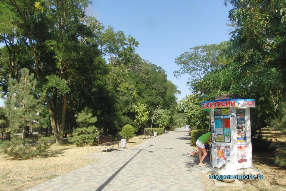 Сквер имени Гудовича в Анапе