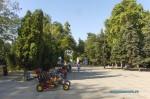 Детские машинки на Театральной площади в Анапе