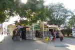 Торговый ряд на Театральной площади в Анапе