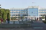 Комплекс фонтанов возле здания администрации в Анапе