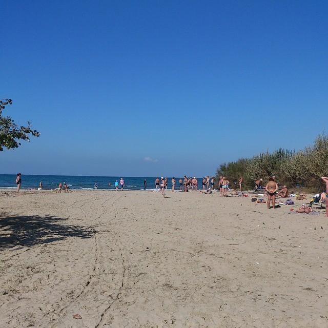 30 сентября 2014, Центральный пляж в Анапе