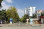 Улица Горького в Анапе в сентябре